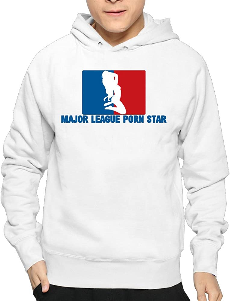 Men's Major League Porn Star Hoodie Sweatshirt Funny Pullover