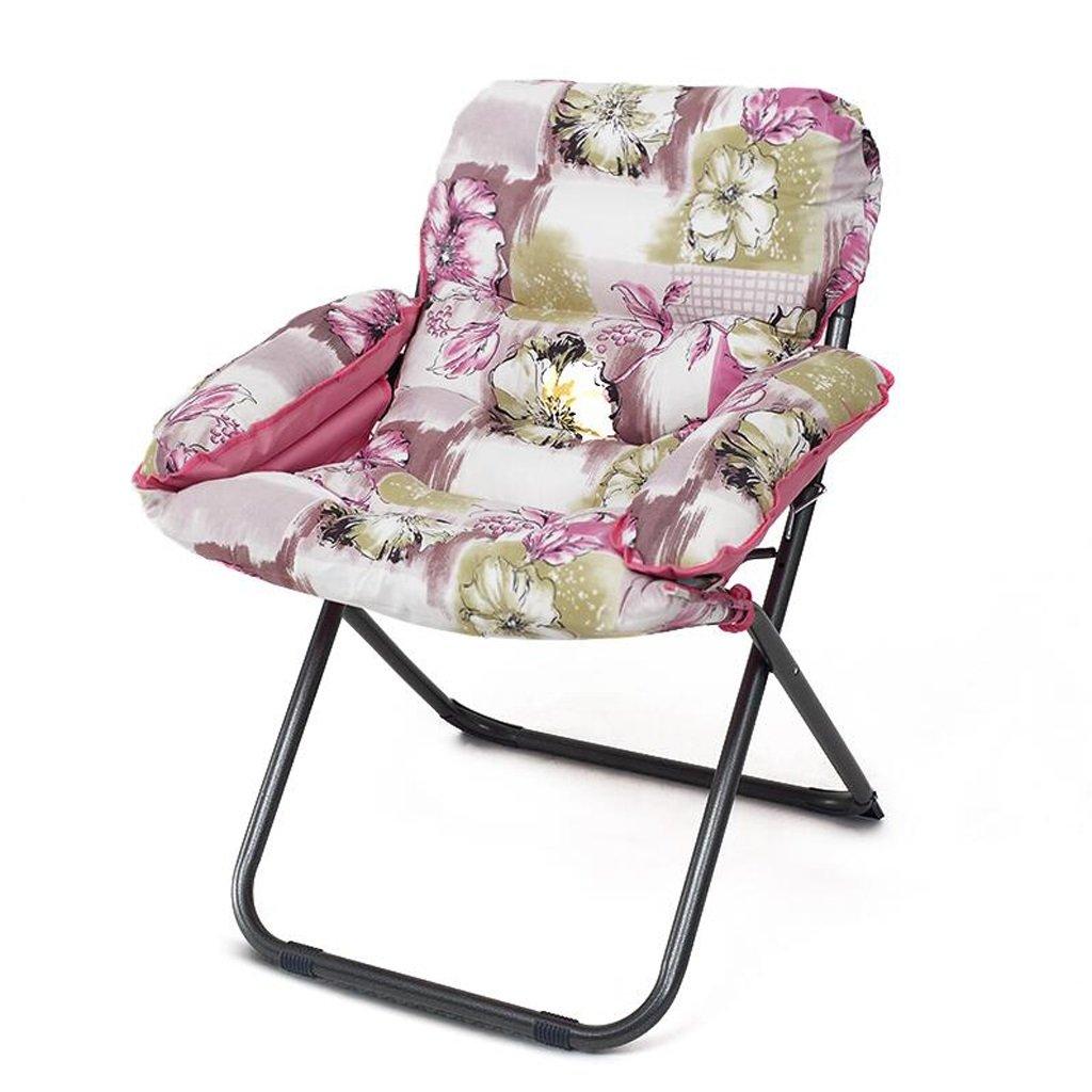 Sofa Hocker Xuan - Worth Having Roter Blumenmuster-pp.-Baumwollsofa-Stuhl-Krankenpflege-Stuhl halten warmen einzelnen faltenden Computer-Stuhl