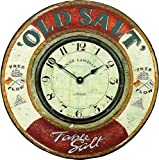 Roger Lascelles Nautical Wall Clock, Old Salt, 14.2-Inch Review