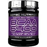 Scitec aminés BCAA 6400 - 375 comprimés