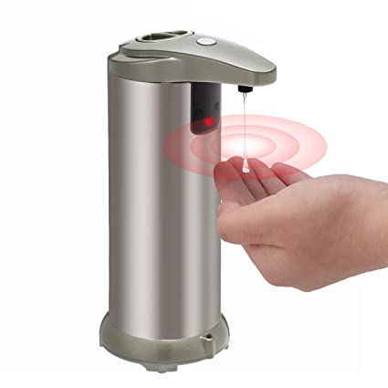 TAPCET 280ml dispensador de jabón Automático,Dispensador de líquidos, Dispensador automático de jabón de