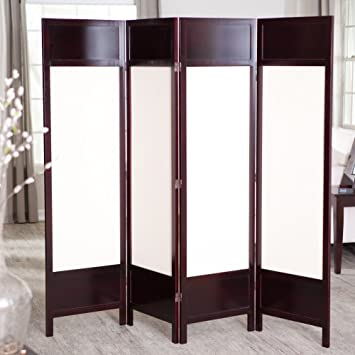 Griffin Canvas 4 Panel Room Divider