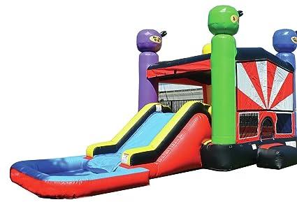 89405ec59 Amazon.com  JumpOrange Commercial Grade Inflatable Ninja Warrior ...