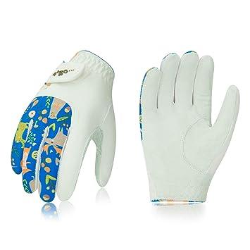 Amazon.com: Vgo... Guantes de golf de primera calidad para ...