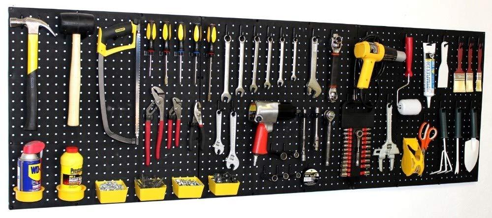 Poly Pegboard 24'' x 72'' - Garage storage - Organize Hand Tools,Workbench EB 212