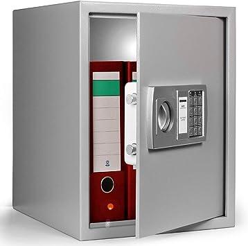 Deuba Caja Fuerte Seguridad Safe Cierre electrónico 35 x 40 x 40 cm Código de Seguridad de 3-8 dígitos Puerta de Acero: Amazon.es: Bricolaje y herramientas