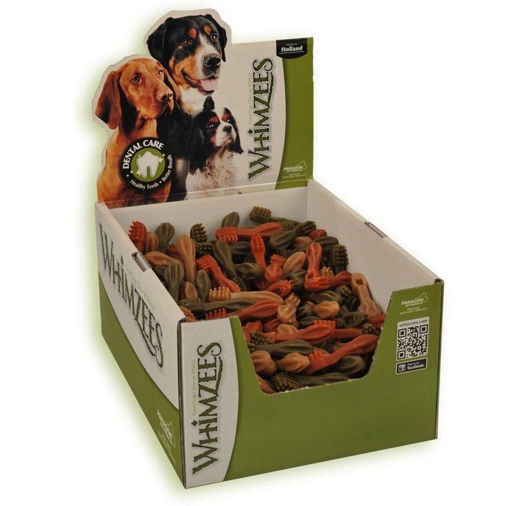 Whimzees cepillo de dientes tamaño XS/350 unidades en la pantalla, 1er Pack (1 x 2.8 kg): Amazon.es: Productos para mascotas
