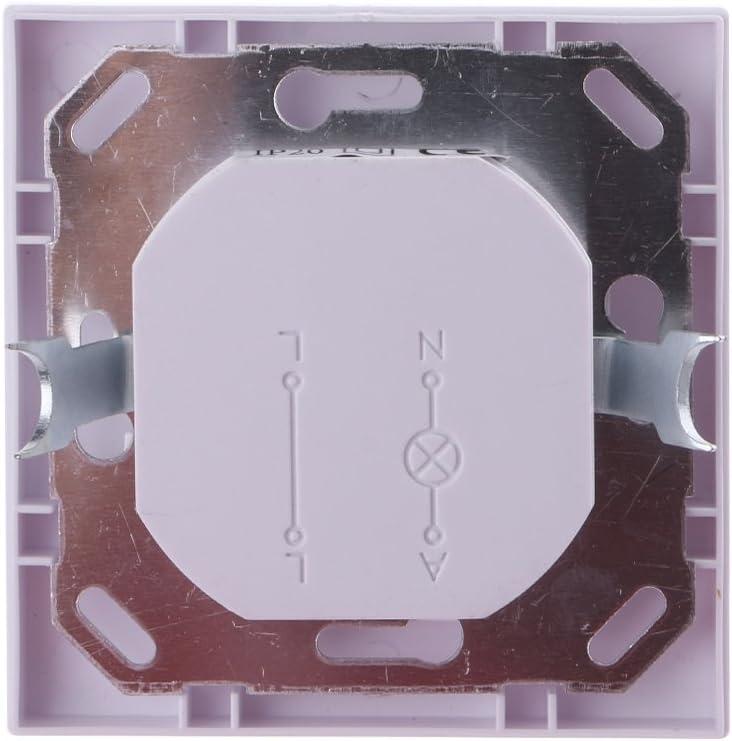 Interrupteur Mural /à d/étecteur de Mouvement Infrarouge PIR AC 110V-240V