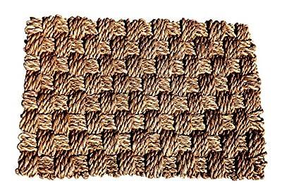 Green Breeze Imports Abaca Weave Doormat