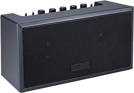 ZJH Amplificador de Guitarra portátil, Recargable Mini Bluetooth ...