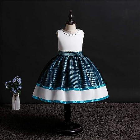 QZ Vestido de Princesa para niñas, Falda de Flores para niña ...