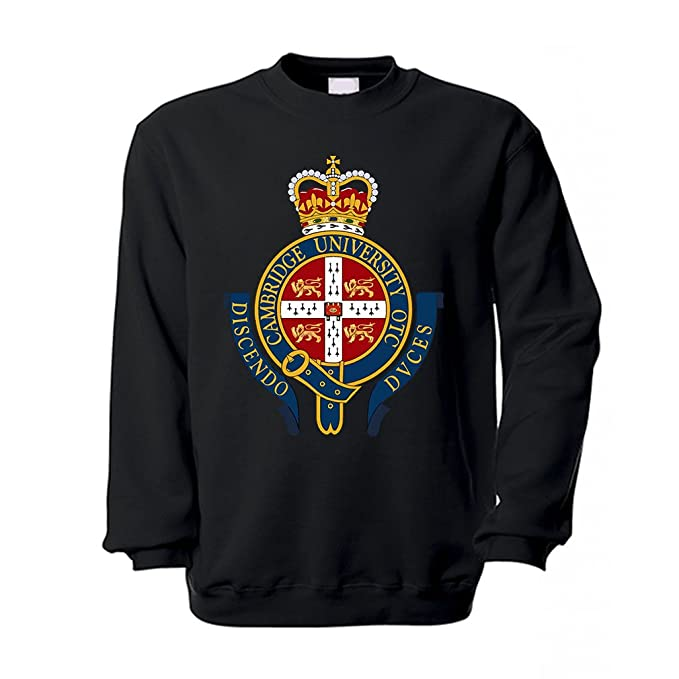 Copytec uotc University Cambridge UK Royal Army universitarios England Nadadores Escudo - Sudadera # 12217: Amazon.es: Ropa y accesorios