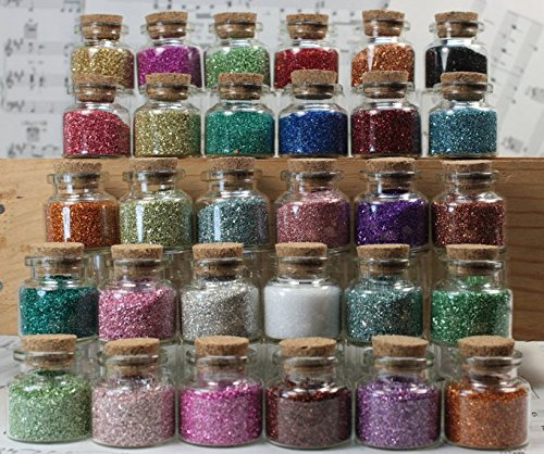 Glitter Treasures 30 Bottle Set - 310-841-30SET by Meyer Imports