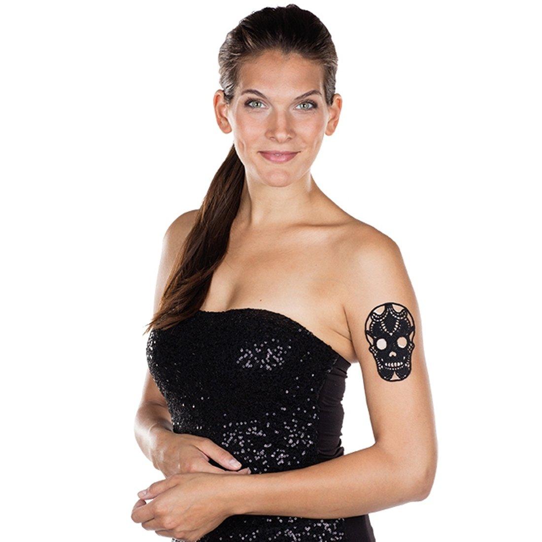 Amakando Adhesivo La Catrina | Tatuaje Temporal Calavera | Día de ...