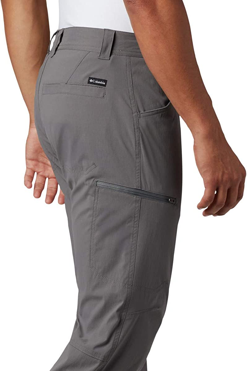 Columbia Mens Silver Ridge II Stretch Pant Breathable UPF 50 Sun Protection
