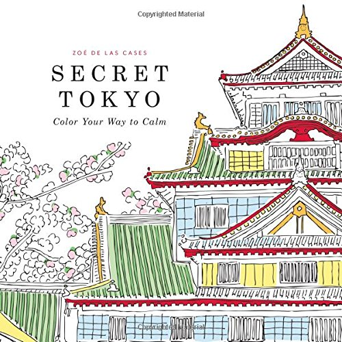 Secret Tokyo: Color Your Way to Calm