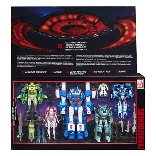 (Hasbro Transformers Platinum Edition Autobot Heroes Figure Set (Ultra Magnus, Autobot Springer, Arcee, Blurr, and Sergeant Kup) )