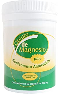Cloruro de Magnesio/Magnesium Chloride Bottle with 60 caps