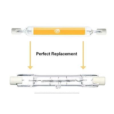 2Pcs 5//10W 78mm//118mm R7S LED COB Light Bulbs Security Replace Halogen Lamp UK