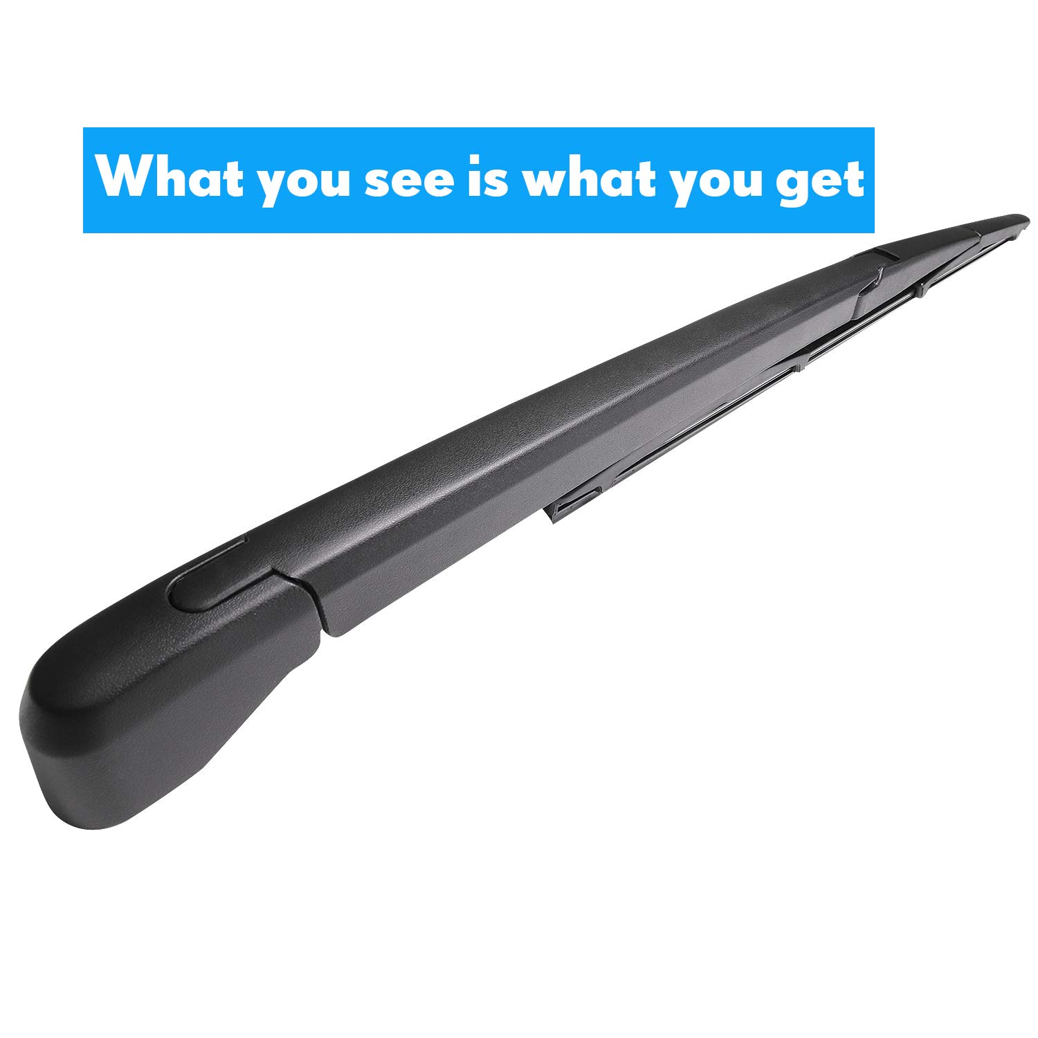 Rear Wiper Arm and Blade Set for CX-5 2010-2019 ASLAM Rear Windshield Wiper Arm Replacement Assembly
