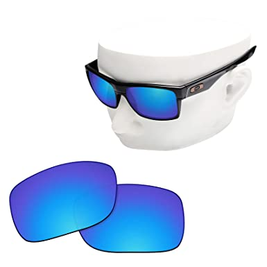 bb66719259 Image Unavailable. Image not available for. Color  OOWLIT Replacement Lenses  Compatible with Oakley TwoFace Sunglass Ice Non-polarized