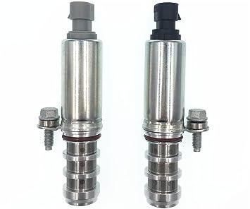 HZTWFC Solenoide VVT de la válvula de distribución de control de aceite de escape de admisión 2PCS OEM # 12655420 12655421: Amazon.es: Coche y moto