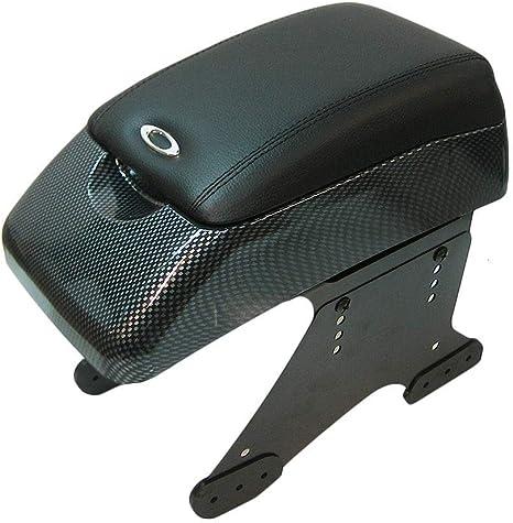 Autohobby 48015 Mittelarmlehne Armlehne Universal Konsole Mittelkonsole Kunstleder Aufbewahrungsbox Carbon A B C G H J Cc 3 4 5 6 7 Auto