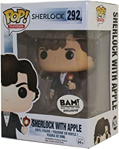 Funko Pop Television: Sherlock with Apple Collectible Figure, Multicolor