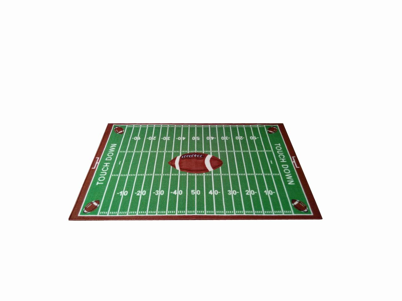 Furnish my Place Football field Ground Kids Rug