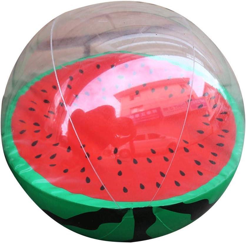 YiGo 1 unid Fruta Inflable Pelota de Playa Sandía Durable Deportes ...