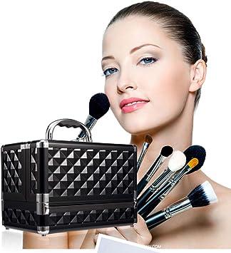 HZXLL Neceseres, Estuches de Maquillaje, Arte de uñas Maleta joyero Esmalte de uñas Soporte para el diseño de uñas, Maquillaje, Organizador Plegables (25,5 * 15 * 18.5cm): Amazon.es: Deportes y aire libre
