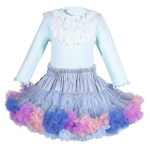 QZ Niñas bebés Princesa Tul Niños Ballet Niños Falda Tutu Bebé ...