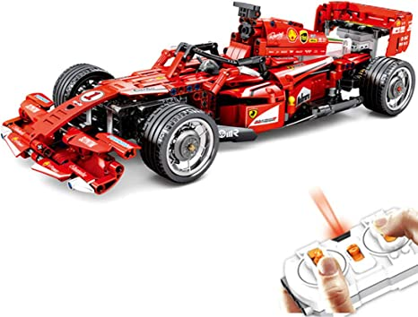 Pexl Technology Formula 1 Frr F1 Car 2 4g Remote Controlled Racing Car Rc F1 Rally Car Building Blocks Construction Kit 585 Clamping Blocks Compatible With Blocks From Danish Küche Haushalt