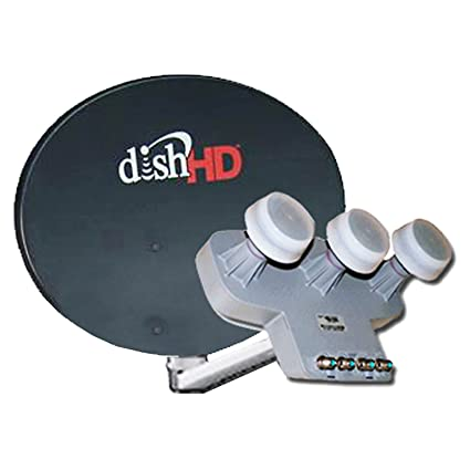 Amazon.com : DISH NETWORK Dish 1000.2 & DishPro Triple TURBO HD LNB 110 119 129 SATELLITE : Everything Else