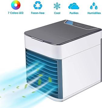 BASEIN - Mini ventilador evaporativo 3 en 1, refrigerador de aire ...