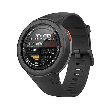 6dc5301e14d6 Xiaomi Huami Amazfit Verge Smart Watch Onyx Black  Amazon.co.uk ...