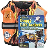 Fido Pet Products Paws Aboard Doggy Life Jacket, XX-Small, Racing Flames For Sale