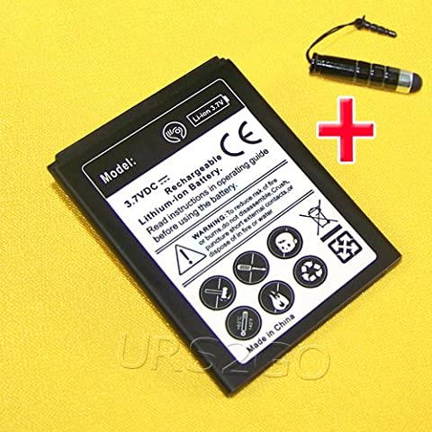 New 1900mAh Rechargeable Standard Li-ion Battery+Cellphone Stylus For ZTE Savvy Z750C Straight Talk/NET10 Android (Zte Savvy Straight Talk Batteries)