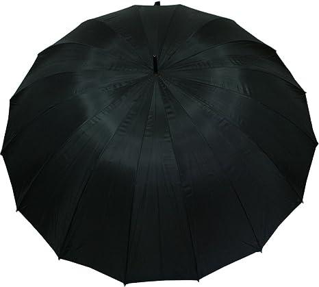 Umbrella Regenschirm XXL Fiberglas Partnerschirm groß stabil sturmsicher 3 Frabe