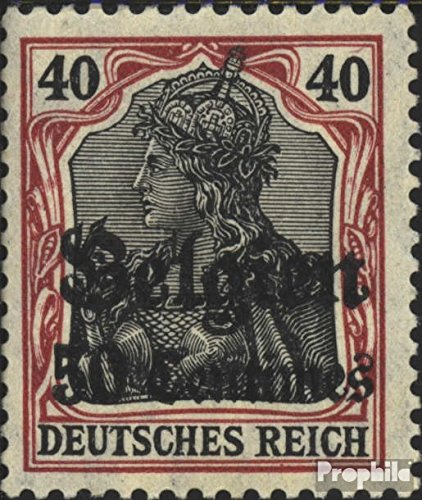- German. Country Post in Belgium 5I 1914 Germania (Stamps for Collectors)