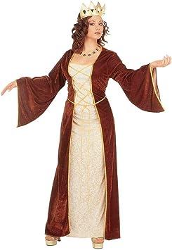 Disfraz para mujer de la Edad Media Burgfräulein Burg señora la ...