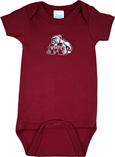 Future Tailgater Mississippi State Bulldogs Baby Onesie and Football Cap Set