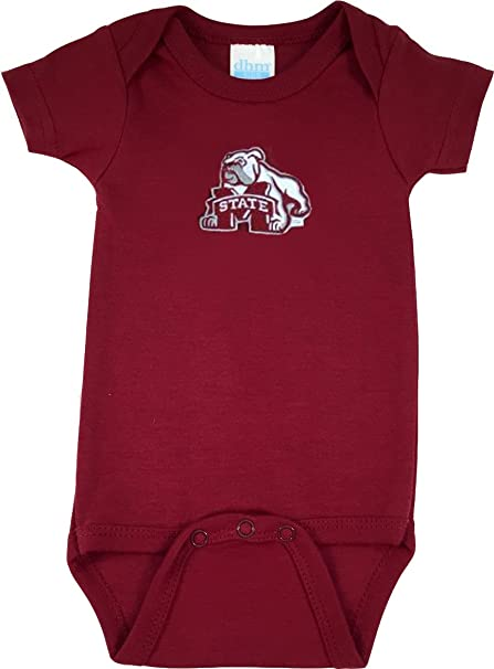 Amazon Com Mississippi State Baby Onesie Sports Outdoors