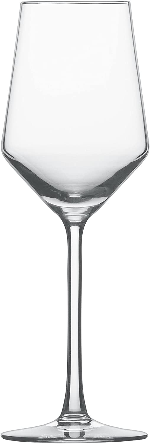 Schott Zwiesel Tritan Crystal Glass Pure Stemware Collection Riesling White Wine Glass, 10.1-Ounce, Set of 6