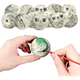 LovesTown 12 Pcs DIY Squeeze Ball, 2.5inches Stress Balls for Kids Bulk Stress Relief Toys for Hand Wrist Finger…