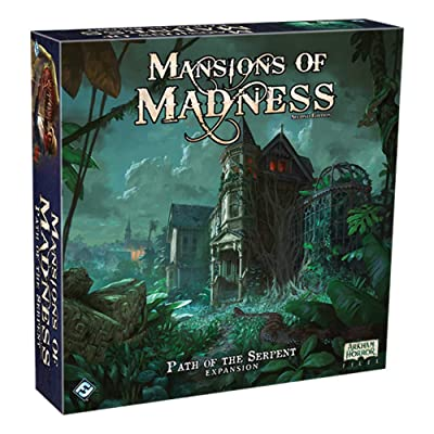 Mansions of Madness: Path of The Serpent: Toys & Games [5Bkhe2003687]
