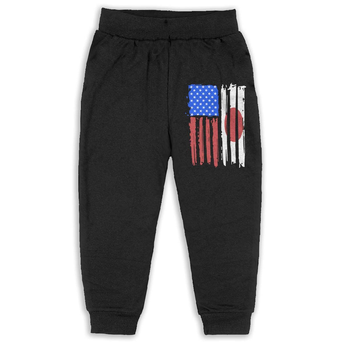 ELCW37K Kids /& Toddler Pants Soft Cozy Baby Sweatpants Peru Flag Fleece Pants Training Pants