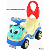 MKE Bruno Baby Push Pedal Car Ride On with Music – Multicoloure