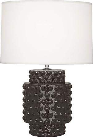 Amazon.com: Robert Abbey Dolly lámpara de acento, CF801 ...