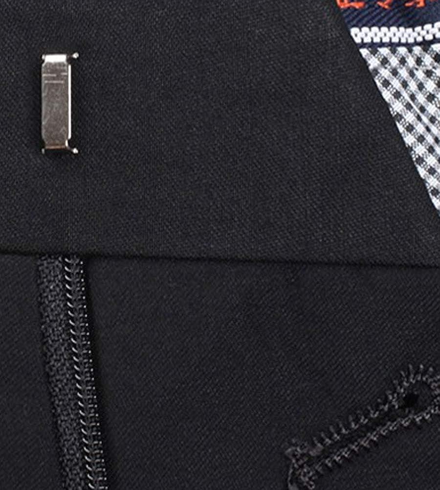 CYSTYLE Herren M/änner Anzug Hose Baukastenhose Anzughose Business Hose Service Kochhose Classic Style